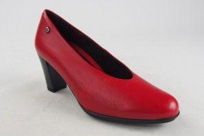 Zapato señora PEPE MENARGUES 9603 rojo