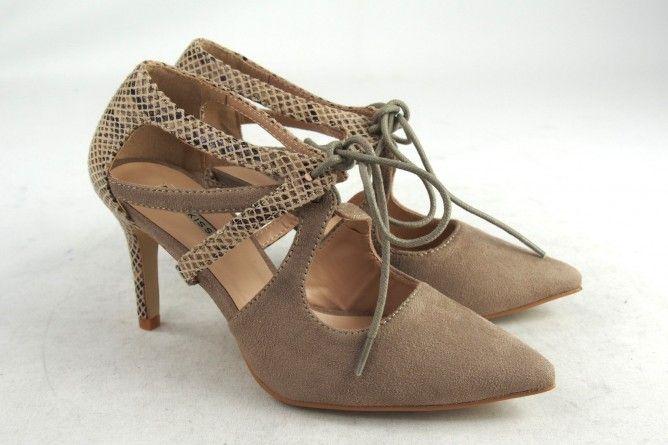 Zapato señora BUBBLE BOBBLE m1835 taupe