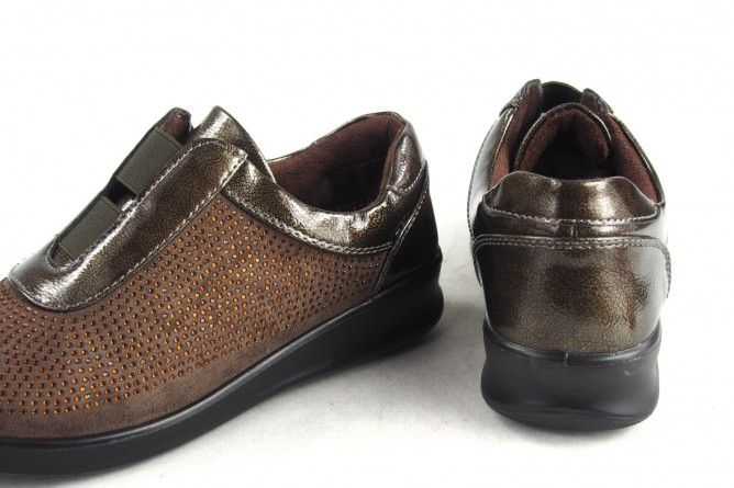 Zapato señora AMARPIES 16121 ast taupe
