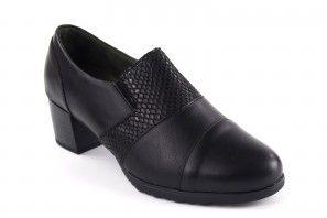 Zarte Füße Dame RELAX4YOU 1503 schwarz