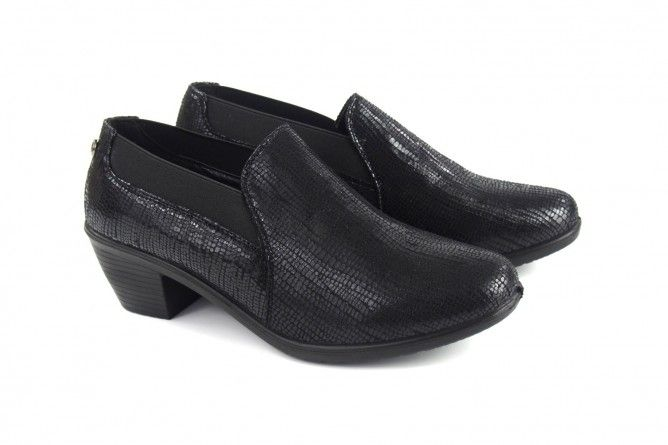 Zapato señora AMARPIES 16111 alh negro