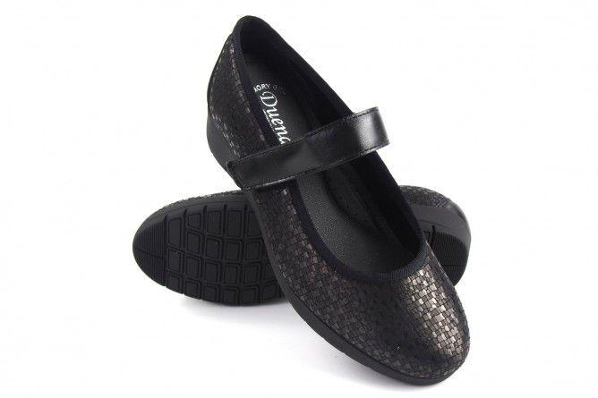 Zapato señora DUENDY 030 negro