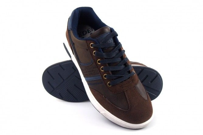 Zapato caballero SWEDEN KLE 843557 marron