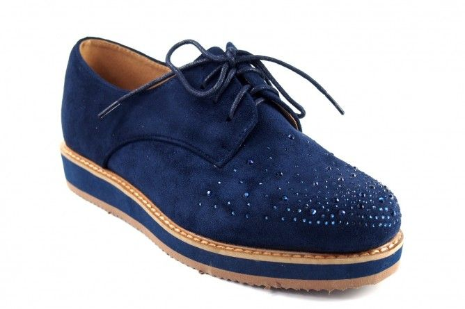 Zapato niña BUBBLE BOBBLE a2225 azul
