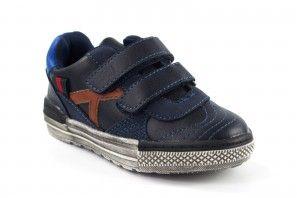 Zapato niño BUBBLE BOBBLE c080 azul