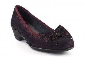 Zapato señora DUENDY 870 burdeos