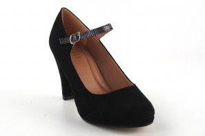Zapato señora LA PUSH 7039 negro