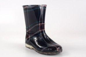 XINTAI 701-5 bottes de pluie bleues pour femmes