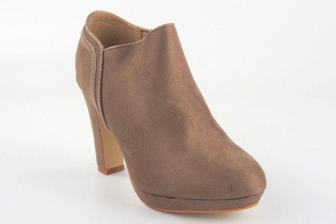 Zapato señora LA PUSH 9990 taupe