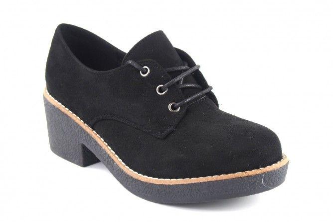 Zapato señora LA PUSH 1001 negro