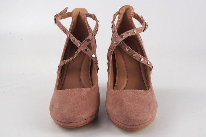 Zapato señora LA PUSH 9980 salmon