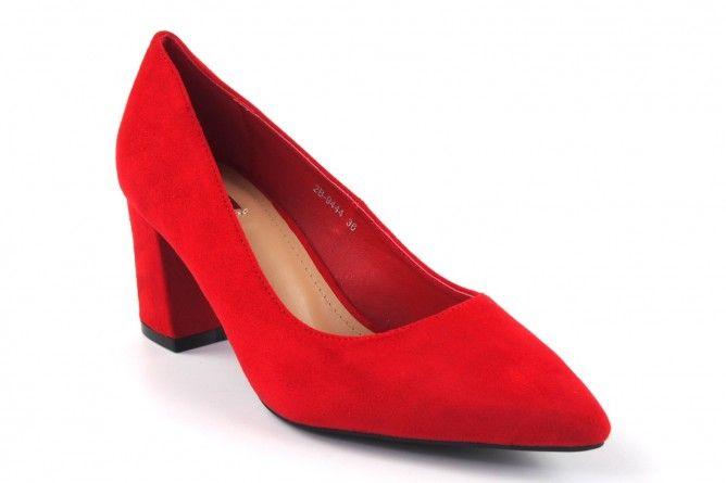 Zapato señora Bienve 2b-9444 rojo