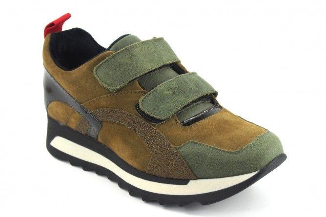 Zapato señora CO & SO 997 kaki