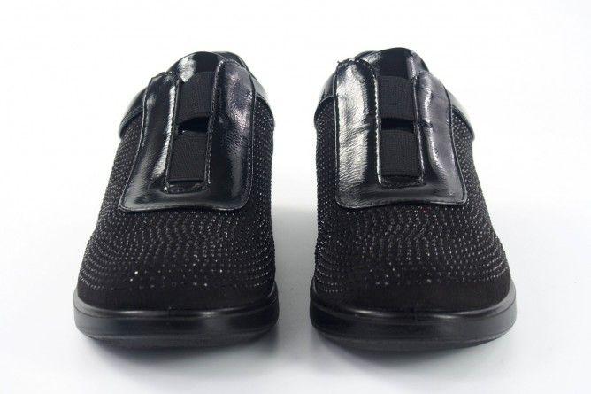 Zapato señora AMARPIES 16121 ast negro