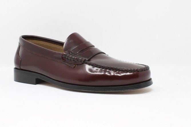 Zapato caballero JENKER 1910 burdeos