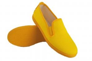 Leinwand Dame Bienve 102 gelb