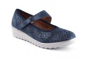Chaussure femme RELAX4YOU 125 bleu