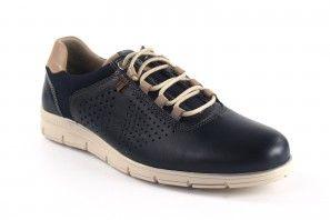 Zapato caballero BAERCHI 4336 azul