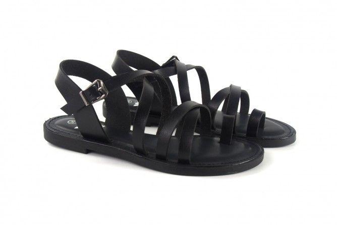 Sandalia señora XTI BASIC 34285 negro