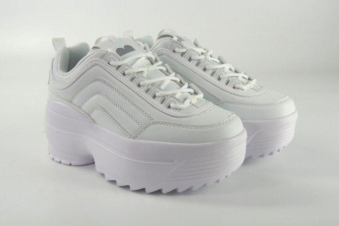 Zapato señora EMMSHU bolt blanco