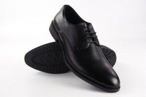 Herren Bienve 2018-8 schwarzer Schuh