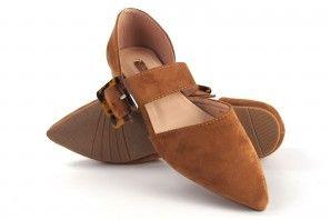 Zapato señora Bienve 1gk-0145 cuero