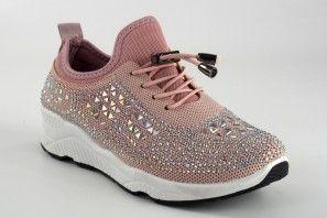 Zapato señora Bienve c3895 rosa