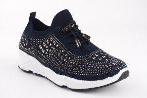 Zapato señora Bienve c3895 azul