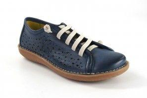 Zapato señora CHACAL 5012 azul