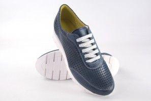 Zapato señora CHACAL 5063 azul