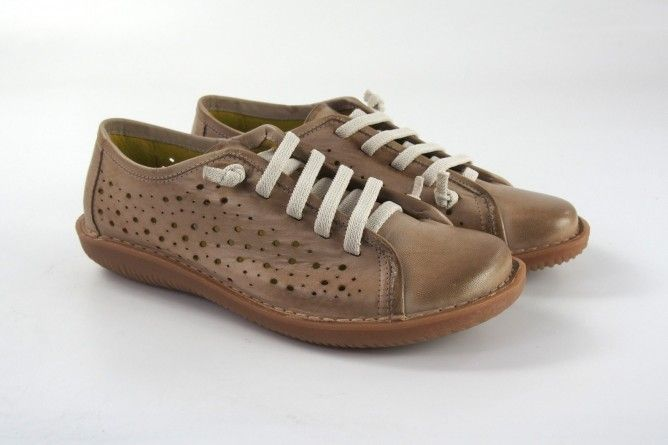 Zapato señora CHACAL 5012 taupe