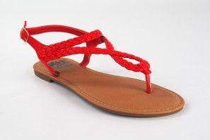 Sandale femme XTI BASIC 34263 rouge