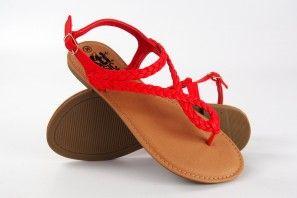 Sandalia señora XTI BASIC 34263 rojo