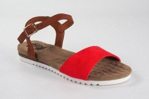 Sandalia señora XTI BASIC 34260 rojo