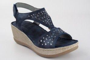 Sandalia señora RELAX4YOU 471 azul