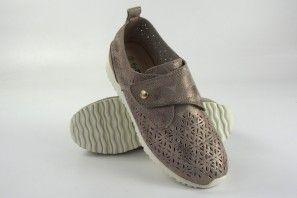 Zapato señora AMARPIES 17084 aft platino