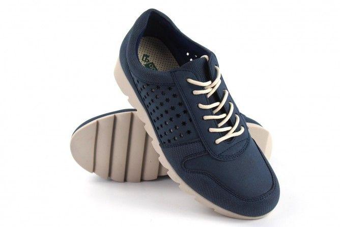 Zapato señora AMARPIES 17312 aqh azul