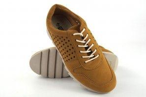 Zapato señora AMARPIES 17312 aqh mostaza