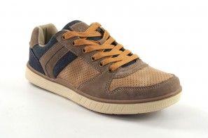Zapato caballero SWEDEN KLE 203526 tostado