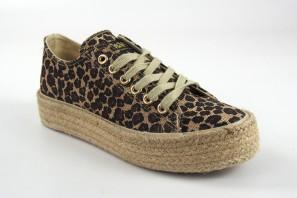 Zapato señora B&W 27008 leopardo