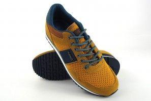 Zapato caballero YUMAS marsella mostaza