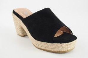 Sandale femme LA PUSH 5032 noir
