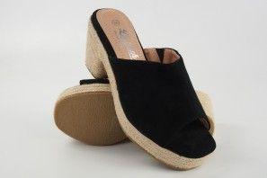 Sandalia señora LA PUSH 5032 negro