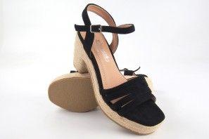 Sandalia señora LA PUSH 5037 negro