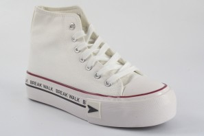 B&W 26812 toile dame blanche