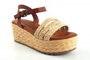 Sandale MUSE & CLOUD pour femme en tan