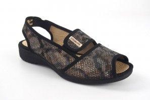 Dame pieds délicats VULCA BICHA 1173 noir