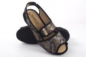 Zarte Füße Dame VULCA BICHA 1173 schwarz
