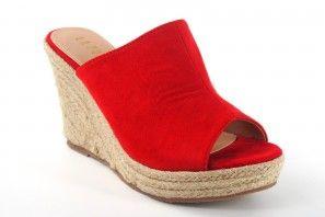 Sandale femme LA PUSH 2111 rouge