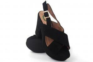 Sandale femme BEBY 19753 noir